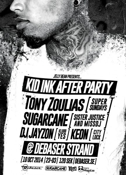 02. Kid Ink After Party - Poster